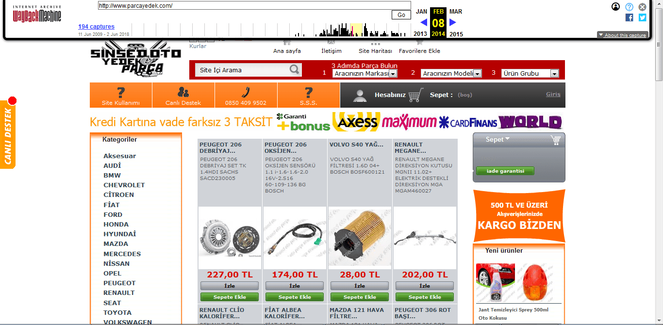 site geçmişi 2014