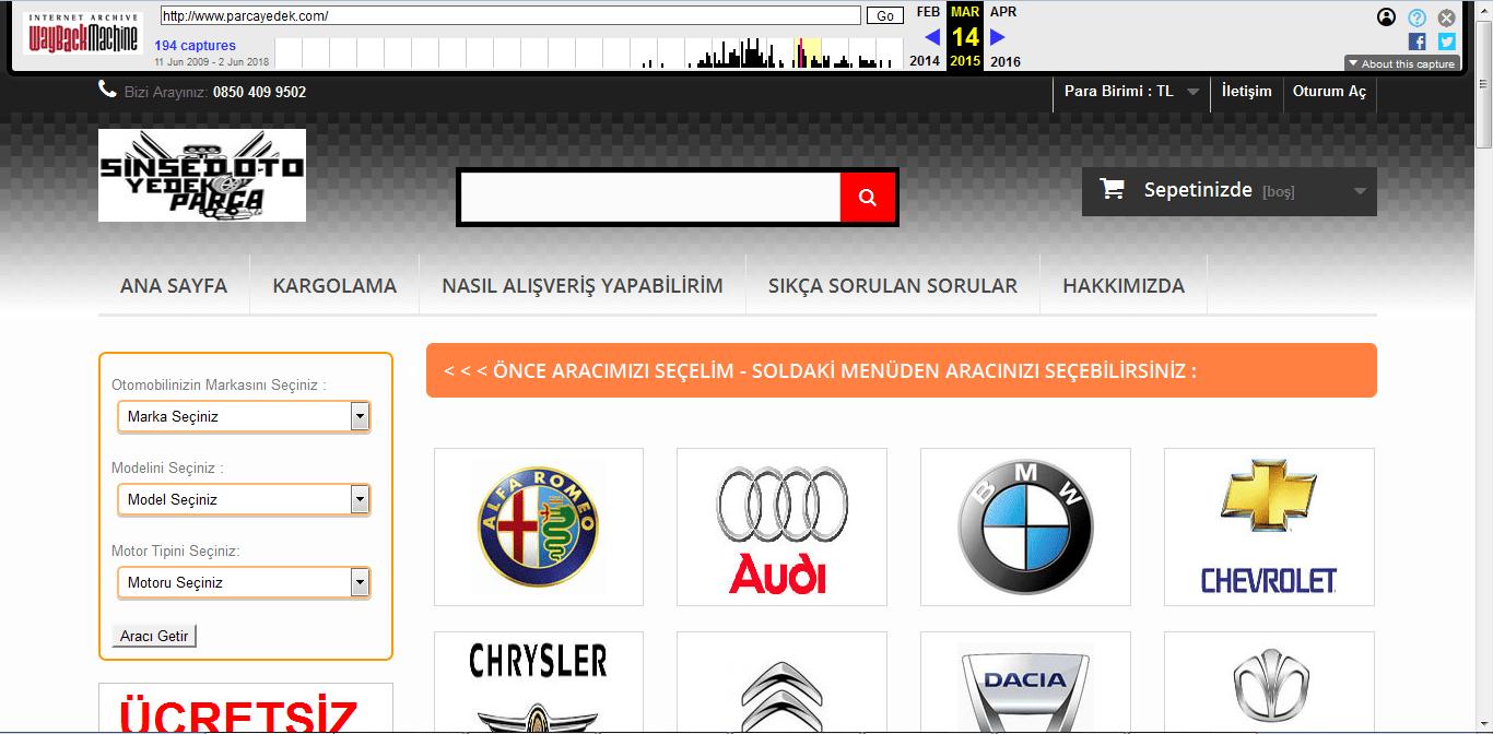 site geçmişi 2015