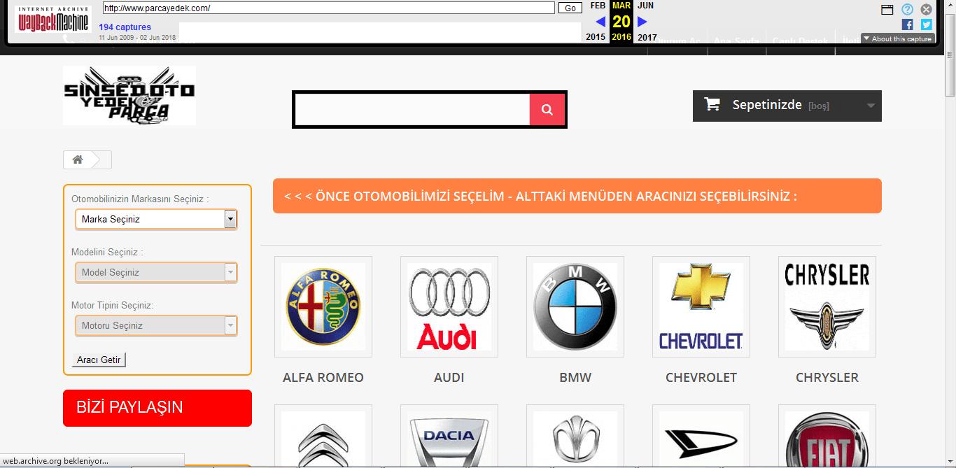 site geçmişi 2016