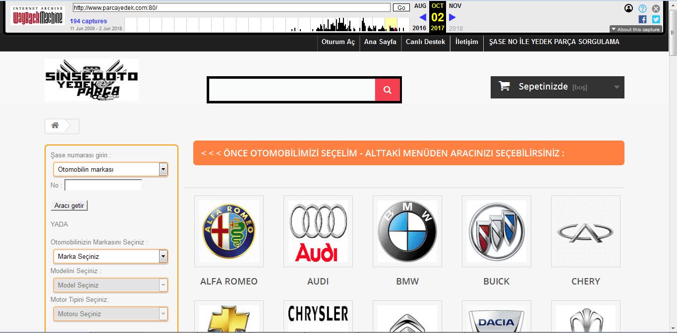 site geçmişi 2017